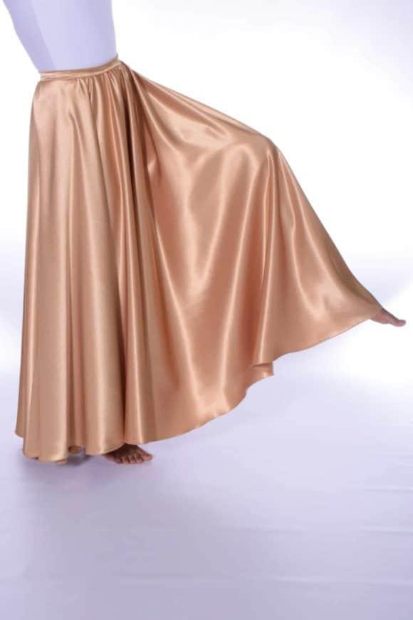 LD-11 Crepe Satin Skirt