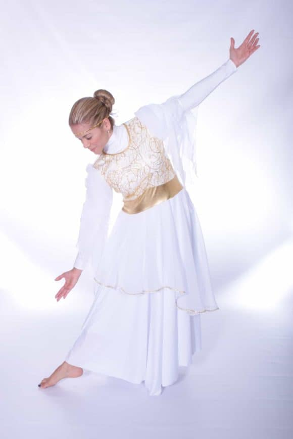 LD-34 The Bride Embroideres Tunic Dress