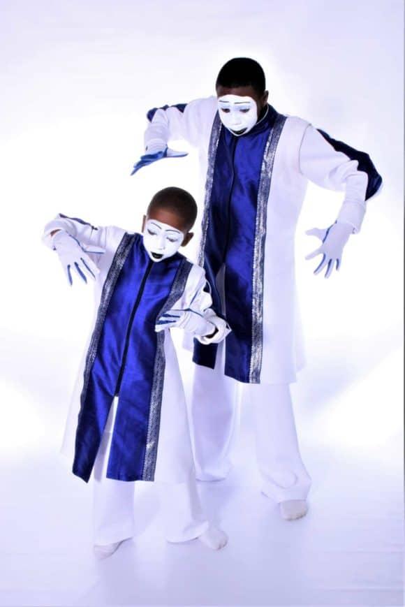 LD-964 Devine Silent Worshiper Mime Robe