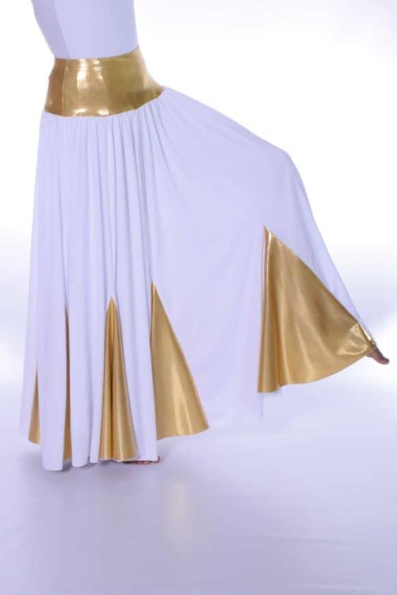 LD-18 10 Panel Denier Double Skirt with Lycra Insert