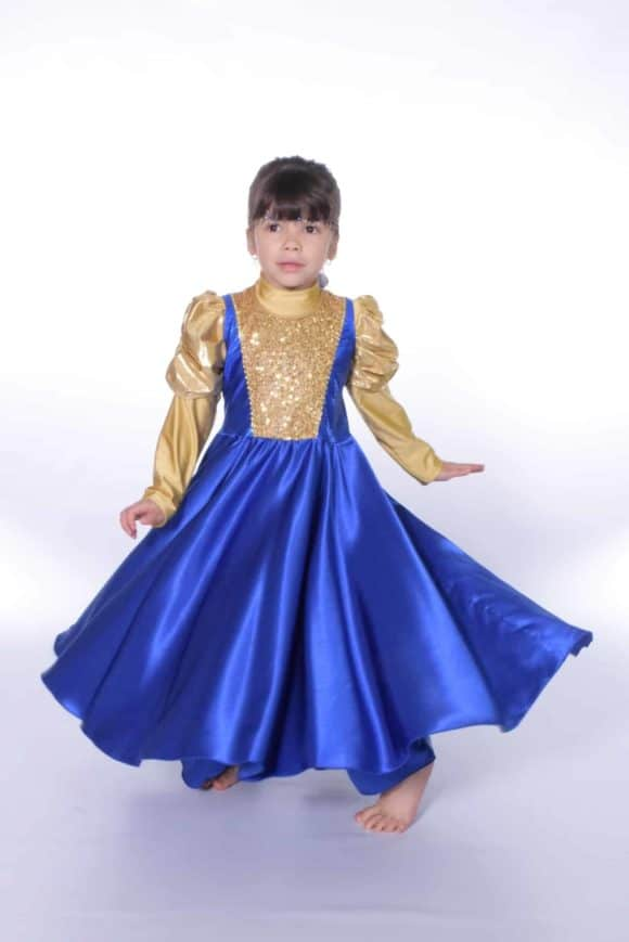 LD-W516K Devine Worship Kids Dress 3
