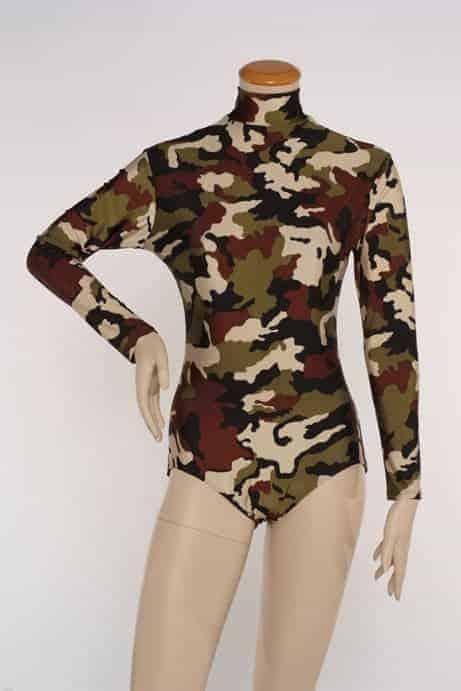 Camouflage Leotard